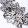 Melrose Resin Pine Cone Wreath Ornament