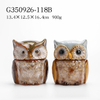 Porcelain Earthenware Owl Cookie Jar