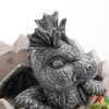 Polyresin Dragon Out of Egg